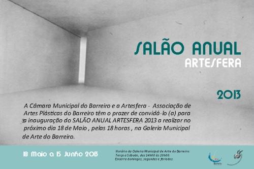 Convite Salão Artesfera 2013