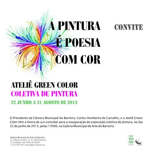 convite digital_Green Color