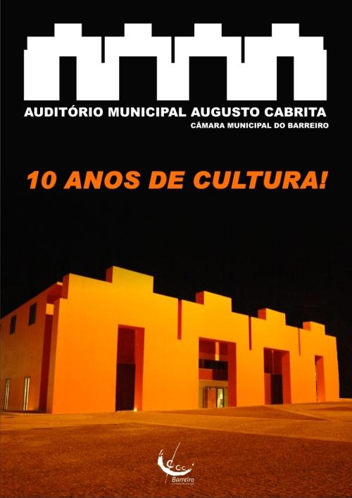 cartaz AMAC 10 ANOS DE CULTURA