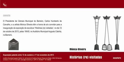 convite Mónica Oliveira