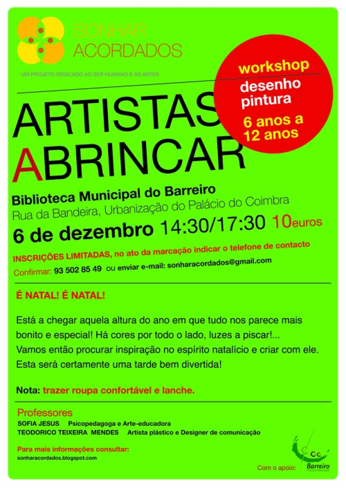 net ARTISTAS A BRINCAR  6dez2014